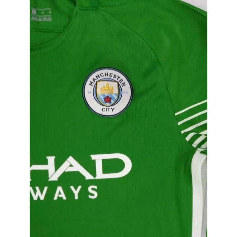 Green-Hook-Jersey-City-Newport-Green-Jersey-City-Nj-Size17-18-man-city-green-goalkeeper-longsleeves-soccer-jersey
